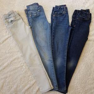 Bundle of Girls Children's Place Jeans